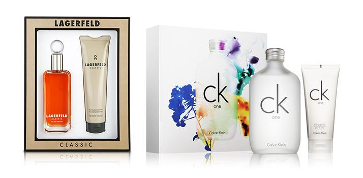 Lagerfield + Calvin Klein poklon set