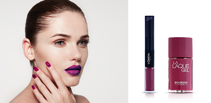 Ultra Violet make-up