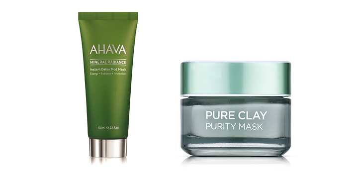 Ahava & L'ORÉAL PARIS Pure Clay