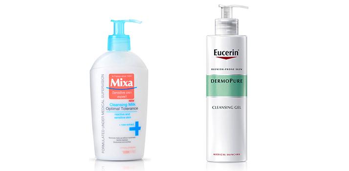Mixa & Eucerin