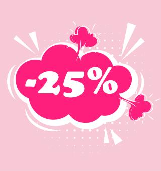 Popust 25% samo sada