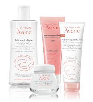 Osnovna njega za osjetljivu kožu lica Avène